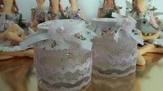 Potinhos decorados