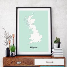 All roads lead to Brighton in original city teal. #brighton #uk #maze #interactiveart #art #print #poster http://ift.tt/1YK6bWi