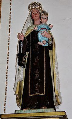 Ntra Sra. del Carmen, Santuario de San Miguel del Milagro, Nativitas, Tlax. | da Tach Jrez. Hra.