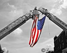 Firefighter Flag 9-11 #NeverForget #911 #Remembering911 9/11/2001 #LIFECommunity From Pin Board #07