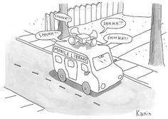 Hilarious cartoon by Zach Kanin. Via Roughly Daily.