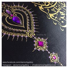 Hand embellished Close up detail of a wedding canvas Handmade by Shafina Ali - Hand embellished Close up detail of a wedding canvas Handmade by Shafina Ali - Henna Canvas, Henna Art, Canvas Art, Wedding Canvas, Mandala Dots, Arabic Art, Mandala Drawing, Henna Patterns, Dot Painting
