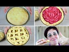 3 modi facili per fare la crostata di mele - 3 Easy Ways to Make Apple Pie - YouTube