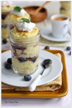 This time it is all about the Lemon Love with these luscious Lemon Pound Cake Parfaits in Jars YUM!