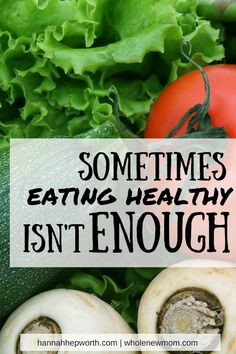So many people are eating healthy but still feel bad. That's because there's more to healthy living than food. Find out what else you should be focusing on here.