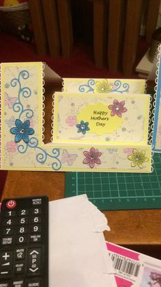 Mother's Day stepper card