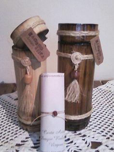 Tubos em bambu com numerologia personalizada - da BamBooZeira - Design http://bamboozeira.blogspot.com