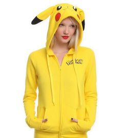 Pokemon Hoodies with Ears Tails