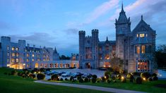 Adare Manor Hotel in Co Limerick was named one of the best hotels for 2018 by Conde Nast Traveler. Castle Hotels In Ireland, Castles In Ireland, Ireland Vacation, Ireland Travel, Ireland Food, Guinness, Limerick Ireland, Adare Ireland, Cork Ireland