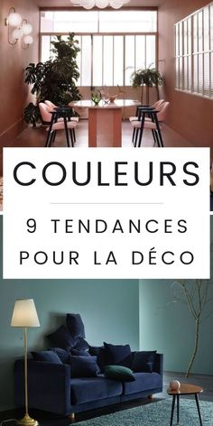 The 9 Colors Trend for 2019 (& How to Adopt them in your decor) - Interior Walls, Decor Interior Design, Interior Design Living Room, Interior Decorating, Living Room Bedroom, Bedroom Wall, Cafe Wall, Creation Deco, Creative Walls