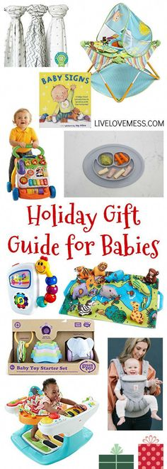 Holiday Gift Guide for Babies, gift for babies, Christmas shopping, Christmas gifts for babies Baby Christmas Gifts, Christmas Shopping, Toddler Christmas, Christmas Stuff, Christmas Time, Christmas Ideas, Holiday Gift Guide, Holiday Gifts, Holiday Time