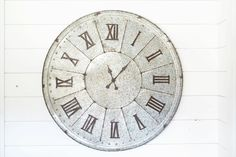 Galvanized Clock | T