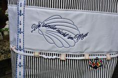 Canvastaschen - Shopper Der Umwelt zu Liebe bestickt  - ein Designerstück von Ursels-Lieblingsmode bei DaWanda