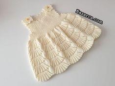 ÇITI PITI ŞİRİN SÜPÜRGE ÖRGÜ BEBEK ELBİSE   Nazarca.com Knit Crochet, Crochet Hats, Knit Baby Sweaters, Sweater Design, Baby Knitting Patterns, Coat, Fashion, Crochet Baby Clothes, Toddler Dress