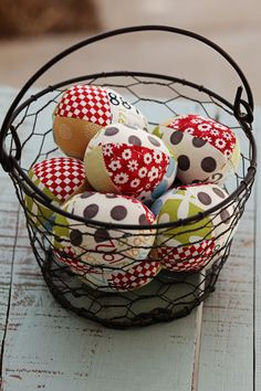 Sweetwater Fabric Kit: Kit includes pattern and fabric to complete 9 patchwork eggs.  only $8.00