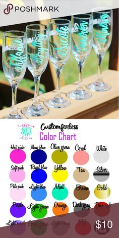 custom wine glass decal my etsy decals pinterest custom vinyl