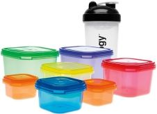 21 day fix eating plan containers sizes