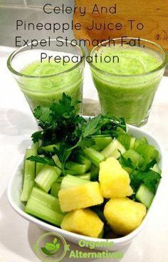 Celery And Pineapple Juice To Expel Stomach Fat, Preparation Juice Recipes, Juice Recipes, Juice Recipes Sellerie-Ananas-Saft zum . Detox Diet Drinks, Natural Detox Drinks, Healthy Juice Recipes, Smoothie Detox, Healthy Juices, Detox Recipes, Healthy Smoothies, Healthy Drinks, Cleanse Detox