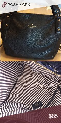 Kate Spade Purse/cross body bag Kate Spade cross body bag. Soft pebbled genuine leather. Gently used . Approximately 14x10 kate spade Bags Crossbody Bags