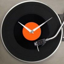 Relógio de parede Disco Laranja Bencafil