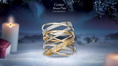"""""""LOVE BRACELET - by Cartier PINK AND WHITE GOLD, DIAMONDS A Cartier icon, the LOVE collection is both a provocative talisman and a bold symbol of passionate love. Allow yourself to become one with your partner, possess or let yourself be possessed… How far would you go for LOVE?"""""""