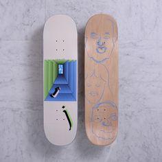 Quasi Skateboards Johnson 'N.O.S.' [One] deck 8.25 x 32.125