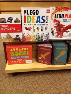 Attack! Boss! Cheat Code! + LEGO + Minecraft? Sure — I'm OK with that.