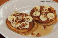 I love protein pancakes SO MUCH! They are so yummy, filling, healthy and just plain good. I had some leftover pumpkin in my fridge so I decided to try my hand at Pumpkin Protein Pancakes! I&#8217…