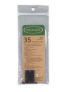 Weaver 35 Detach Top Mount 2 Piece Base Gloss Front Interarms Howa Moss 1500 1700 48035 ** Read more at the image link.