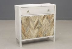 Dido Two-Door, One-Drawer Accent Cabinet in White | Stein World Furniture | Home Gallery Stores