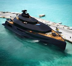 Calibre Super Yacht via @thisisamans.toy by @davidlundins...