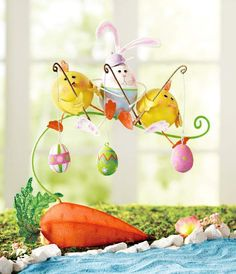 Pier 1 Fishing Bunny & Chicks brings unique Easter charm to your decor