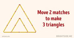 Ten mind-bending matchstick puzzles from our childhood