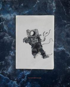 lost.  #art #artist #artwork #draw #drawing #doodle #design #astronaut #dream #dreamer #sketch #sketching #illustrator #illustration #instaartist #instagram #facebook #pintrest #igers #ink #pen #instacool #instagood #artoftheday #like #follow