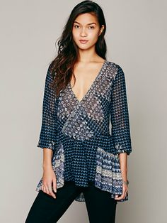 Free People Into the Mystic Top, $128.00