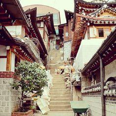 삼청동,한국 여행,모바일가이드 Beautiful Architecture, Architecture Design, South Korea Travel, Seoul Korea, Old Building, Beautiful Places, Scenery, Places To Visit, Asia