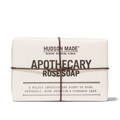 "Hudson Made Apothecary Rose Soap, <span class=""price"">$16.00</span> #birchbox"