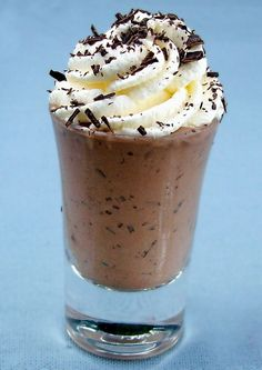Low-Carb Black Forest Ice Cream (Shot)