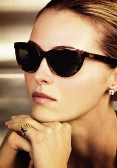 love these sunglasses. And her monogrammed ring. Cheap Ray Ban Sunglasses,  Sunglasses Women 9a659781fc6e