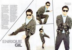 Enrique Gil for Bjerre Bjerre Erika Valdez. Enrique Gil, Pinoy, Erika, Boyfriend, Mens Fashion, Coat, Jackets, Artists, Moda Masculina