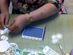 YouTube You Tupe, Mall, Ticket Card, Easel Cards, Studio Lighting, Pop Up Cards, Stamping Up, Folded Cards, Diy Cards