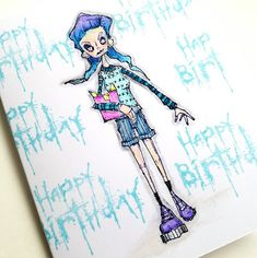 Birthday card (Julie Steed)