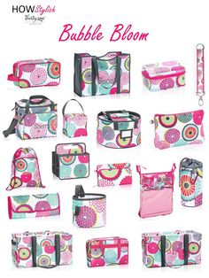 Bubble Bloom - - Spring 2015 Thirty-One.  Created by HOWStylish, independent consultant.