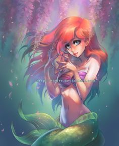ariel by einlee on @DeviantArt