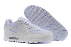 Nike Air Max Shoes Nike Air Max 90 All White [Nike Air Max 90 - Built for the runner with a neutral gait who requires enhanced cushioning. This pair of Nike Air Max 90 All White is fine choice for running time with its leather upper and the large air Cheap Nike Air Max, Nike Air Max For Women, Mens Nike Air, Nike Women, Cheap Air, Nike Lebron, Nike Free, Zapatillas Nike Air, Baskets Nike