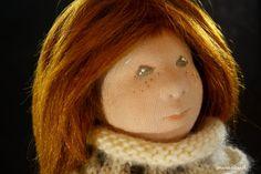 steiner doll ooak cloth doll Waldorf style doll by snugabud