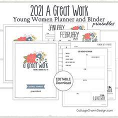 Work Planner, Cute Planner, Goals Worksheet, Bullet Journal Notes, Calendar Pages, Binder Covers, Printable Planner, Printables, Birthday List