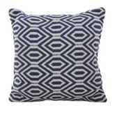 Sainsbury's Moroccan Blue Woven Diamond Cushion 50x50cm