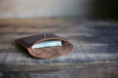Ready to get rid of a wallet in favor for a card holder.