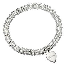 Personalised Heart Bracelet  http://www.treather.com/product/personalised-heart-bracelet